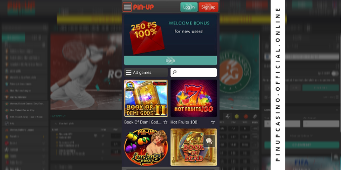 Casino Pin Up mobile version India